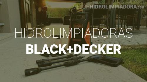 Hidrolimpiadoras Black+Decker